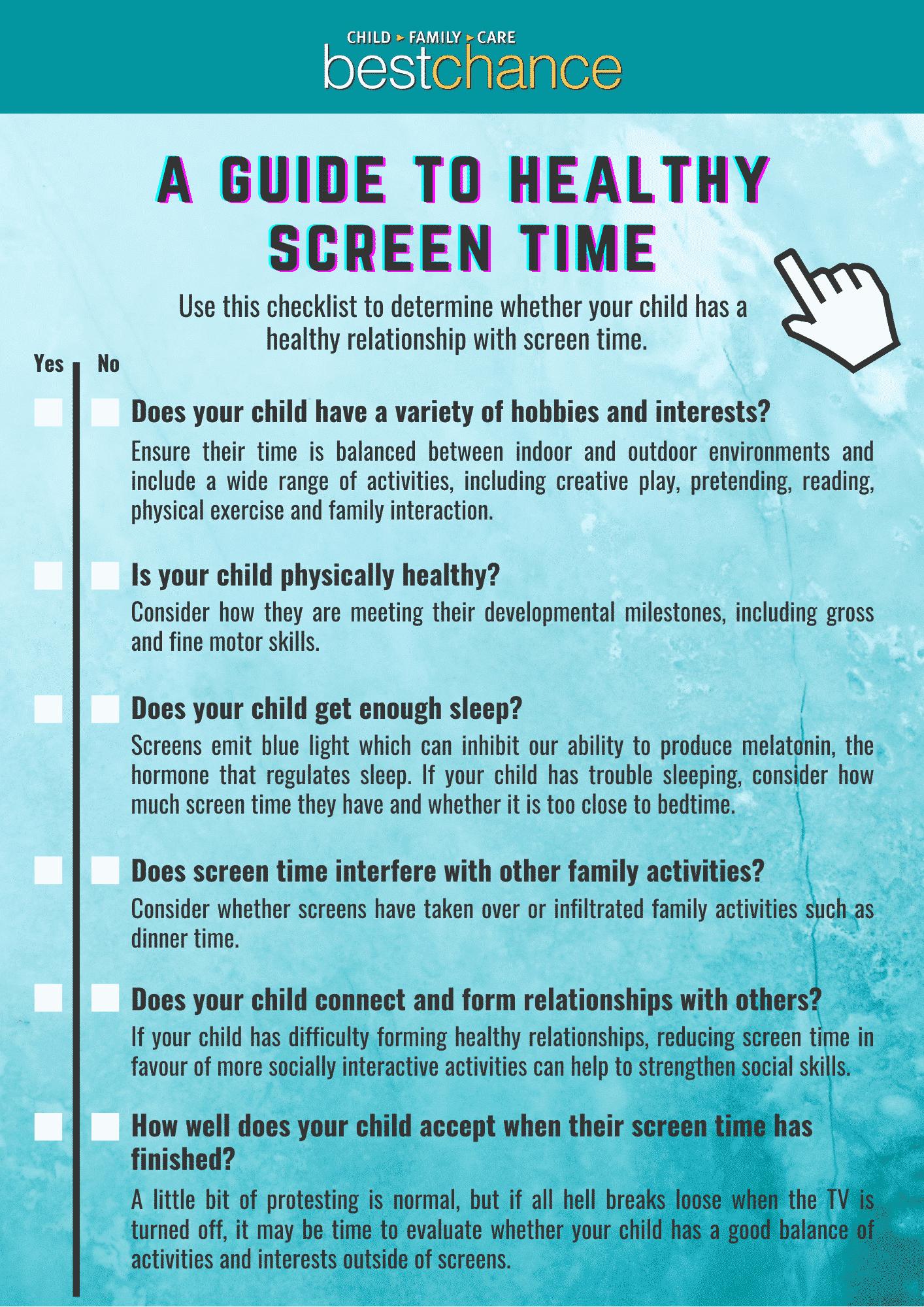 Screen time checklist (1)