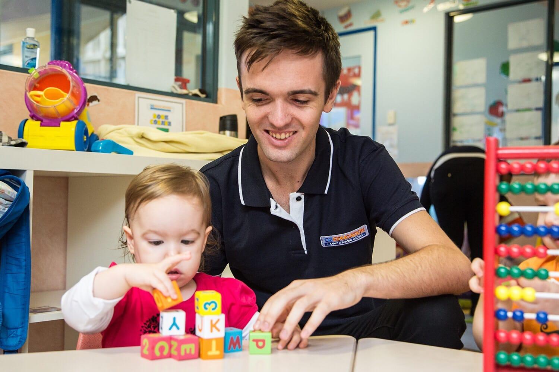 male childcare